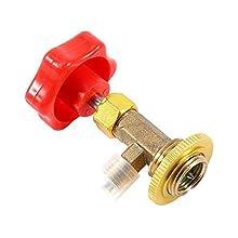 """M14 / 1/4""""Auto AC Can Tap Valve Bottle Opener Valvola di erogazione Auto Aria Condizionata Refrigerante Can Tap Valvola per R134a"""