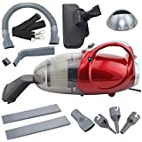 Gadgetronics Plastic Vacuum Cleaner for Home and Car Blowing and Sucking, 220-240 V, 50 HZ, 1000W, Medium, Red (Red)