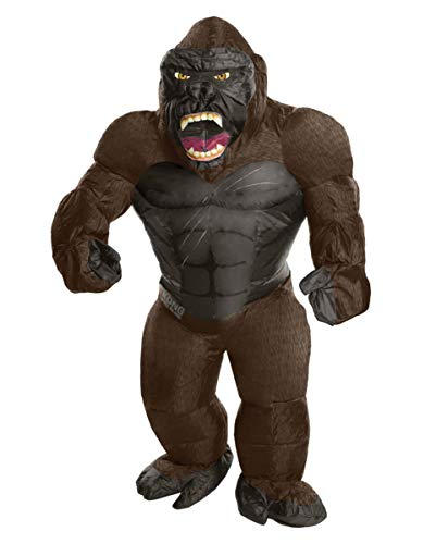 Kong King Kostüm - Horror-Shop Original King Kong Aufblas Kostüm für Erwachsene