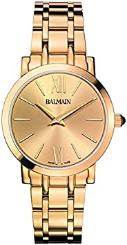 Balmain Dress Watch For Women Analog Metal - B44303342