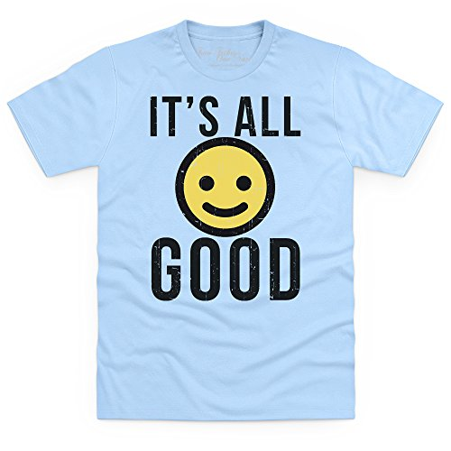 Official Two Tribes Emoji - It's All Good T-Shirt, Herren Himmelblau