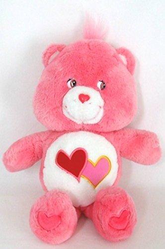 2002 Care Bears Love-a-Lot Bear 13 Plush by Care Bears