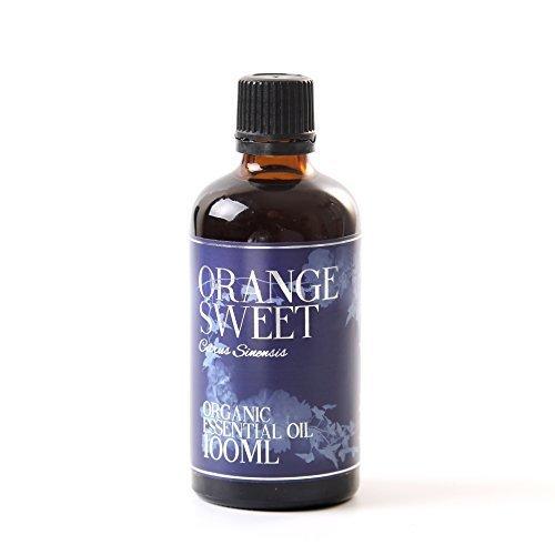 Olio Essenziale Organico di Arance Dolci - 100ml - 100% Puro
