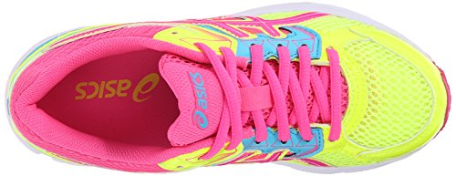 Asics Gel-1000 4 PS Synthétique Chaussure de Course Flash Yellow-Hot Pink-Turqouise