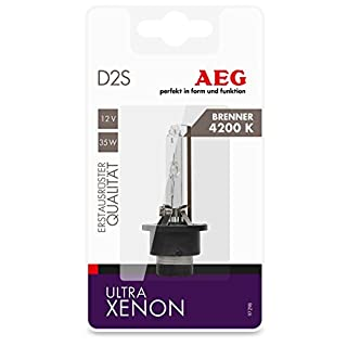 AEG Automotive 97298 Ultra Xenon bulb D2S 4200 K, 12 V, 35 W