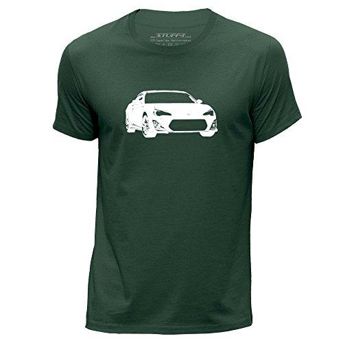 stuff4-herren-xx-gross-xxl-dunkelgrun-rundhals-t-shirt-schablone-auto-kunst-gt86-brz