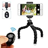 Best Flexible Tripod For Cell Phones - Mini Cell Phone Tripod holder, Adjustable Flexible Mobile Review