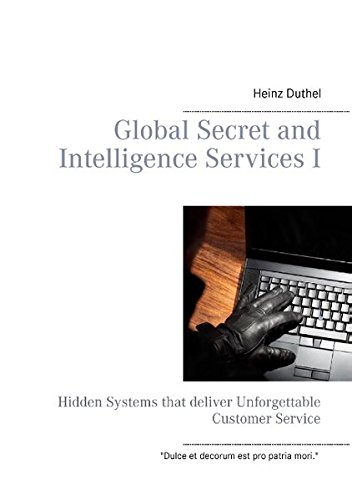 Buchcover: Global Secret and Intelligence Services I