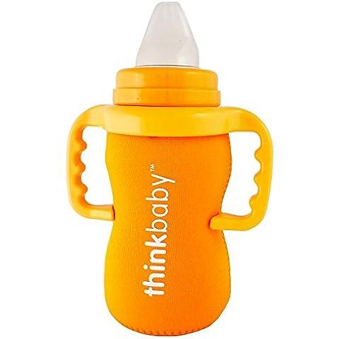 Funda para Biberón de Bebé de Thinkbaby – Ideal para usarlo junto al Biberón de Acero de 266ml de Thinkbaby, el Vaso de Acero de 266ml y la Botella de Acero Thinkster con Pajita de 266ml –