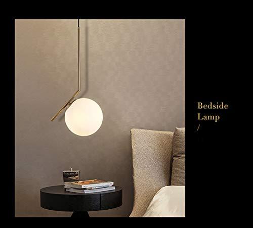 Moderner Milchweißer Glaskugel-Kronleuchter,Personalisiertes Creative Kinderzimmer Kronleuchter - (Weißes Licht) - 120v 36 Led-glühbirne
