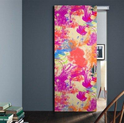Türposter selbstklebend Tür Poster Plakat Druck Türfolie Türtapete Fototapete 90cm x 210cm 316294