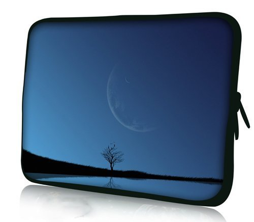 Sidorenko 17-17,3 Zoll Laptop Hülle - Laptoptasche aus Neopren, 42 Designer Case zur Auswahl
