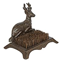 Cast Iron Stag Shoe Muddy Boot Scraper - Ideal For Keeping Mud Out Of Your Home - W44 x H15cm