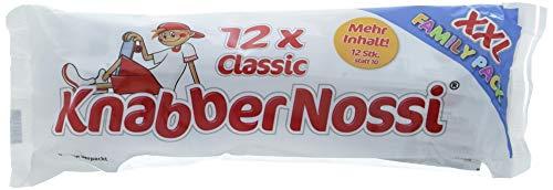 Knabber Nossi Wurst Snack Classic, 3er Pack (3 x 150 g)