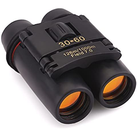 Zogin Sakura 30X60 Telescopio Portatile Telescopio Binocolo per La Visione Notturna - Ideale Per Concerti Partita Calcio Cambeggio Caccia Ect.