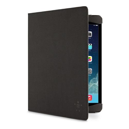 Belkin F7N053B2C00Schutzhülle für iPad Air (Convertible in Fuß, Polyester), Schwarz Schwarz