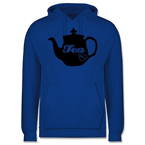 Statement Shirts - Tea-Shirt - Männer Premium Kapuzenpullover / Hoodie Royalblau