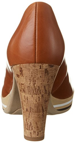 Cognac Damen Gabor Braun Fashion 24 Pumps Abskork 6fgb7Yy