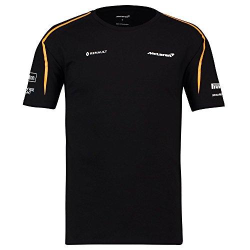 2018 McLaren F1 Formel-1-Team der Offiziellen für Herren T-Shirt Tee 8d90e1a400024