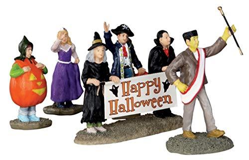 Lemax - Halloween Parade Banner, Set Of 5