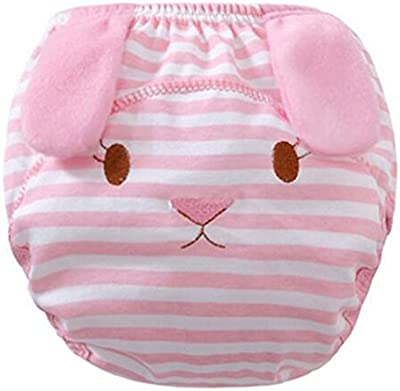 hibote Pack de 2 Pañales reutilizables cubierta infantiles para niños de las bragas de formación Calzoncillos de tela Pañales
