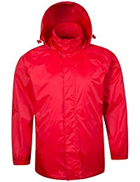 Parallel Chaqueta impermeable Hombre compresible con capucha