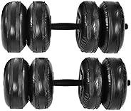 Dewin Verstelbare Dumbbells Set - Gewicht Verstelbare Hand Dumbbell Set, Bodybuilding Oefening Apparatuur Water Dumbbells Ki