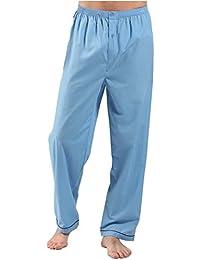 Harvey James Lot de 2 pantalons de pyjama pour homme Tailles disponibles : M, L et XL