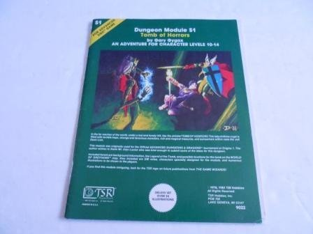 Tomb of Horrors: An Adventure for Character Levels 10-14 (Advanced Dungeons & Dragons) by Gary Gygax par Gary Gygax