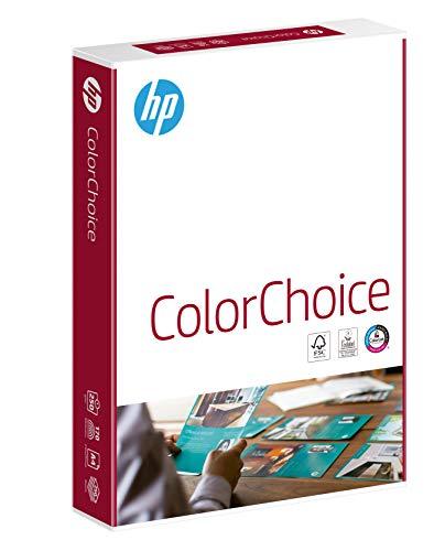 HP Farblaserpapier, Druckerpapier Color-Choice CHP756 - 250 g, DIN-A4, 250 Blatt, extraglatt, hochweiß - Für brillante Farben