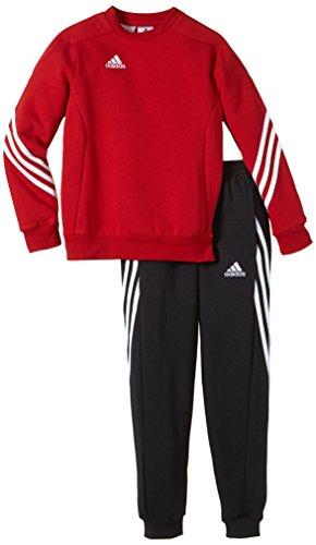 adidas Unisex - Kinder Trainingsanzug Sere14 Sweat Y, power rot/weiß, 152, F81930