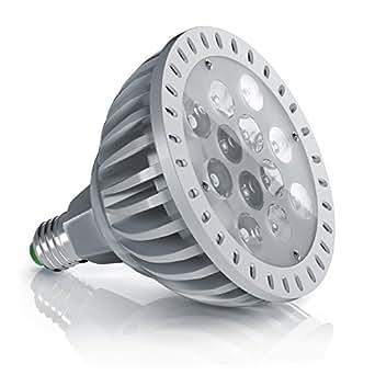 Brandson - LED 24W Pflanzenlampe Vollspektrum E27 Energieklasse A | Pflanzenleuchte / Pflanzenlicht | Wachstumslampe | | 980 Lumen | max. 24W | geringer Stromverbrauch / energieeffizient / umweltfreundlich | hohe Lichtausbeute | minimale Wärmeentwicklung | IP65