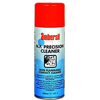30233-AA AMBERSIL N F PRECISION CLEANER NON-FLAMMABLE CONTACT SOLVENT CLEANER 400ML AEROSOL