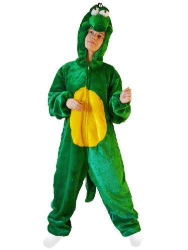Krokodil-Kostüm, F13/00 Gr. XL, Für hoch gewachsene Männer und Frauen! Krokodile Karnevalskostüm für Männer und Frauen, Krokodil-Kostüme für Fasching Karneval, als Karnevals- Fasnachts-Kostüm, Tier-Kostüme Faschings-Kostüme Erwachsene