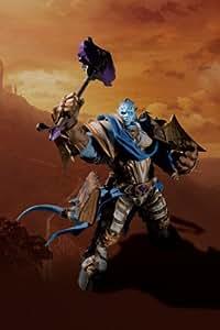 World of Warcraft Deluxe Collector Figure Vindicator Maraad Draenei Paladin