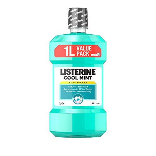 Listerine Cool Mint Mouthwash, 1L