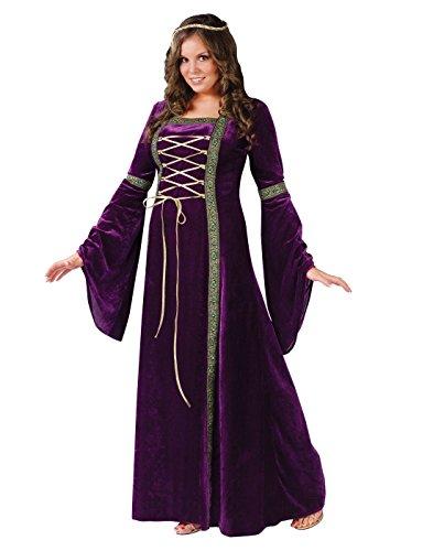 Unbekannt Edles Renaissance-Kleid Damenkostüm XXL lila XXL