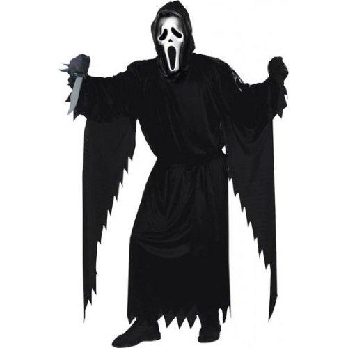KULTFAKTOR GmbH Original Scream Kostüm XXL schwarz Einheitsgröße
