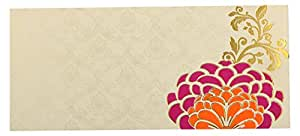 Bharat Cards Envelope for Wedding or Birthday, 18.5 cm x 8.5 cm x 0.2 cm, Pack of 10, F212-10