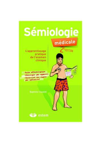 Sémiologie médicale - apprentissage pratique de l'examen clinique