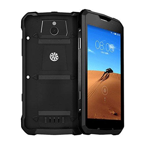 Rugum V1 Outdoor 4G Unlocked Smartphone,Rugged Mobile Phone,IP68 Waterproof,Shockproof,Dustproof,Android 4.4,2000mAh Battery,5.0inch Display (Black)
