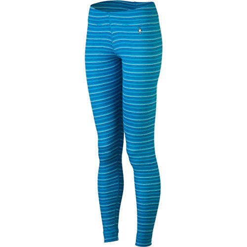 Smartwool Midweight Pattern Bottom Pantalon pour femme Bleu Bleu Bleu - Bleu