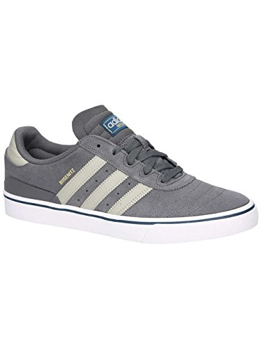 adidas Herren Busenitz Vulc ADV Skateboardschuhe, Blau, 40,5 EU grau (Granit/Sesamo/Ftwbla)