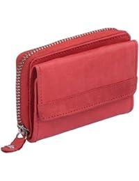 Petit portemonnaie OTARIO , cuir véritable 9x6,5cm