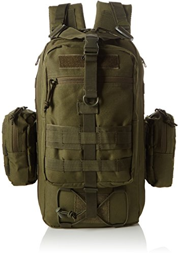 DEFCON 5 Rucksack One Day Tactical Backpack, Od Grün, 45 x 25 x 20 cm, 25 Liter, D5-L115-OD -