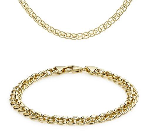 Carissima Gold Halskette aus 9 Karat Gelbgold, 46 cm, 45.72 cm &19 cm/19.05 cm Preisvergleich