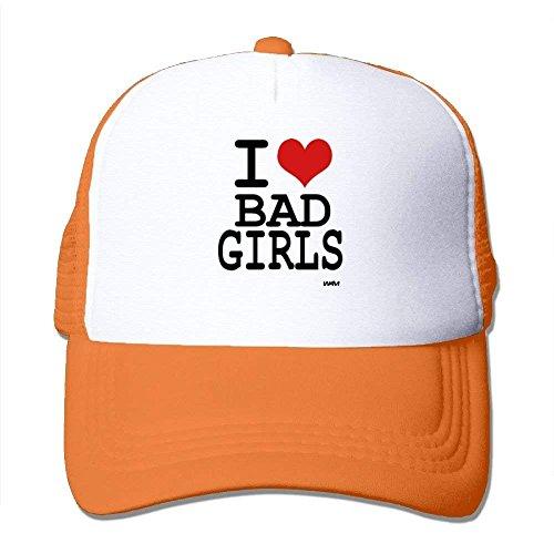 Love Bad Girls by WAM Big Foam Snapback Caps Mesh Back Adjustable Cap (Big Bad Wolf Hat)