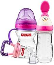 Fisher-Price Newborn Feeding Starter Kit, Pink/Purple