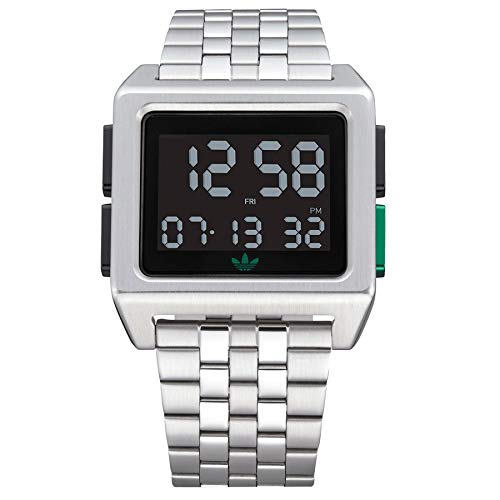 Adidas Originals Archive_m1 Watch One Size Silver/Black / Green