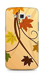 Amez designer printed 3d premium high quality back case cover for Samsung Galaxy Grand 2 G7102 (Thanksgiving fall leaf)